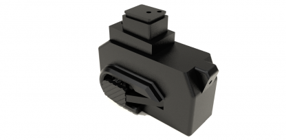 Black HPA CNC M4 adapter kit for hicapa GBB pistols